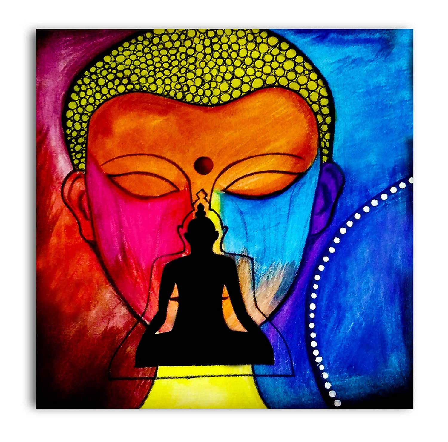 Tamatina Buddha Canvas Paintings Face Of Buddha Modern Art Buddha Buddhism Paintings Buddha Paintings For Home Decor Paintings For Bedroom Paintings For Living Room Religious