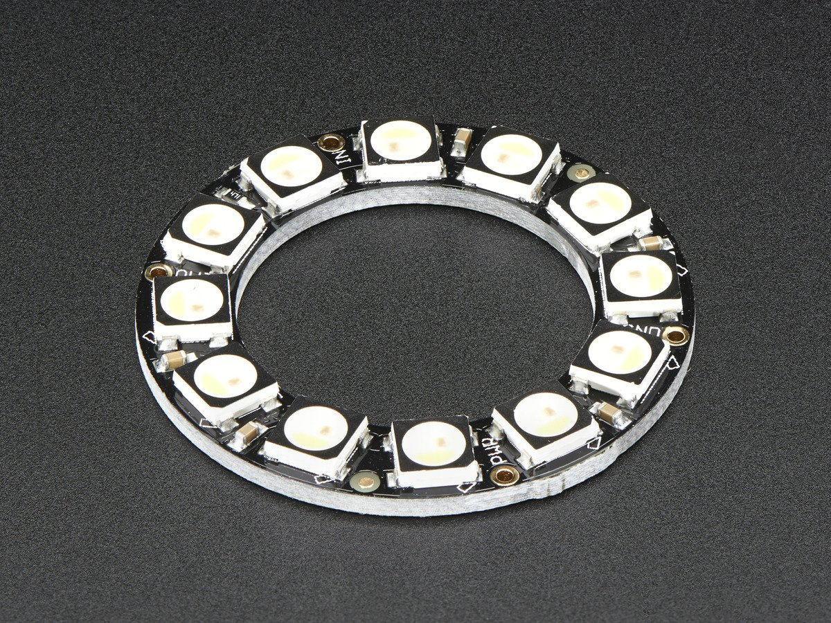 NeoPixel Ring 12 x 5050 RGBW LEDs w// Integrated Drivers