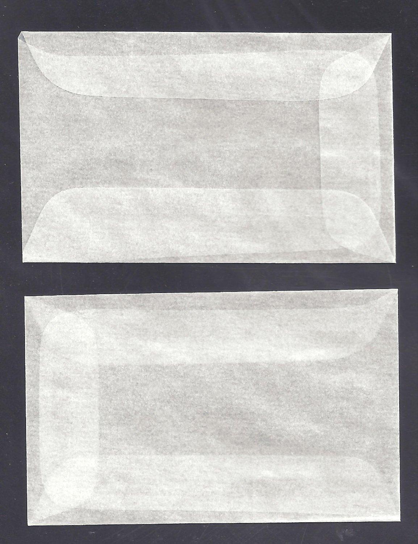 100 #1 Glassine Envelopes measuring 1 3//4 x 2 7//8 inches SG/_B0045JAEBM/_US
