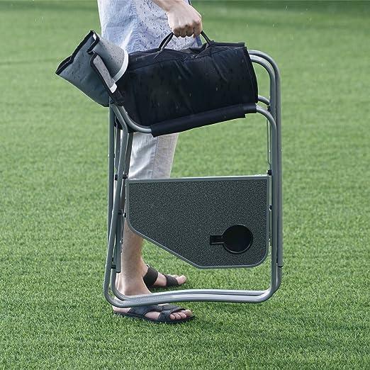 Amazon.com: giantex silla del director plegable Mesa de ...