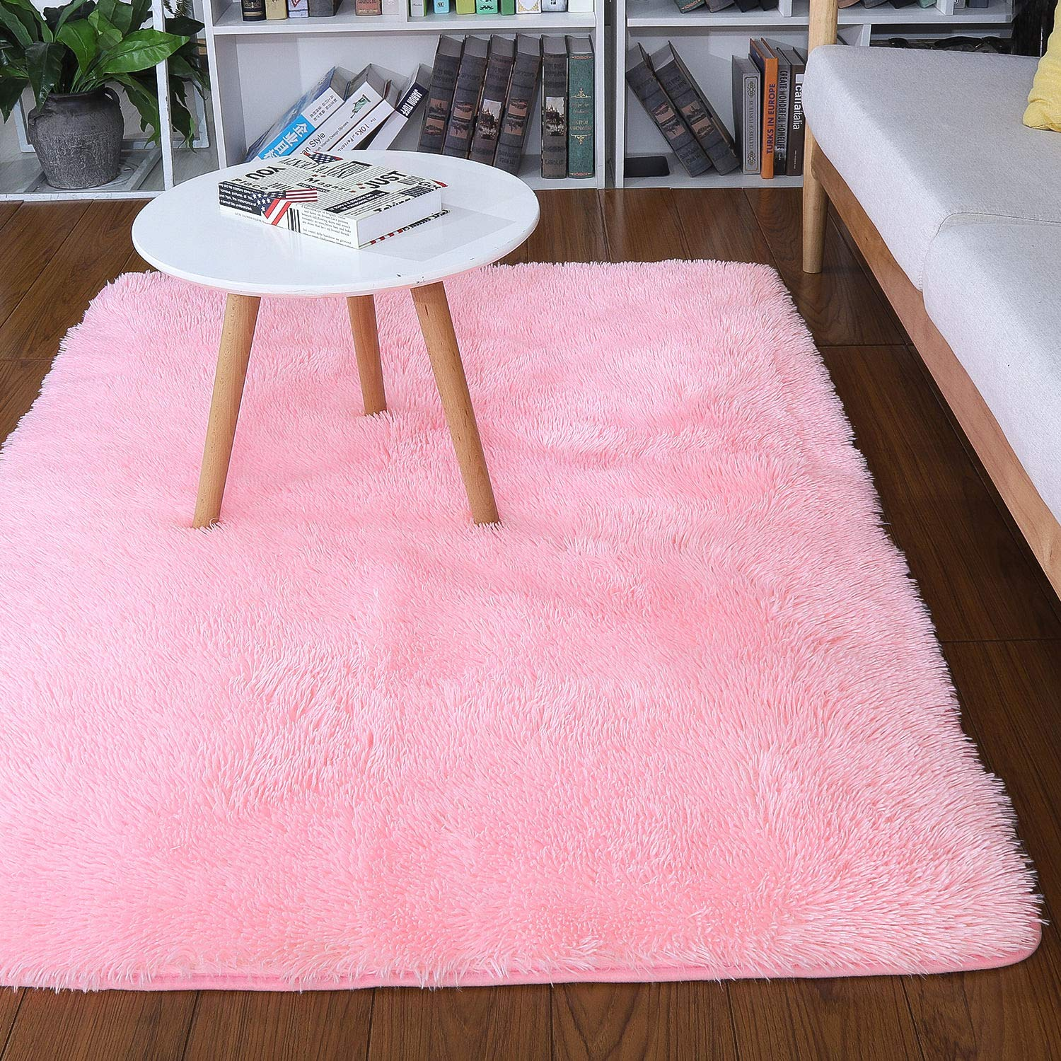 Noahas Super Soft Modern Shag Area Rugs Fluffy Living Room