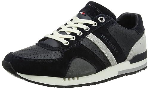 Tommy Hilfiger New Iconic Casual Runner, Zapatillas para Hombre: Amazon.es: Zapatos y complementos