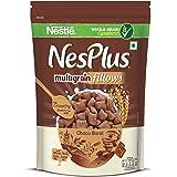 NesPlus Nestle Breakfast Cereal, Multigrain Fillows – Choco-Burst, 250g Pouch