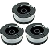 """LBK 0.065"""" Spool for BLACK+DECKER String Trimmers ( Replacement Autofeed Spool) , compatible with BLACK+DECKER AF-100 ,3-Pack"""