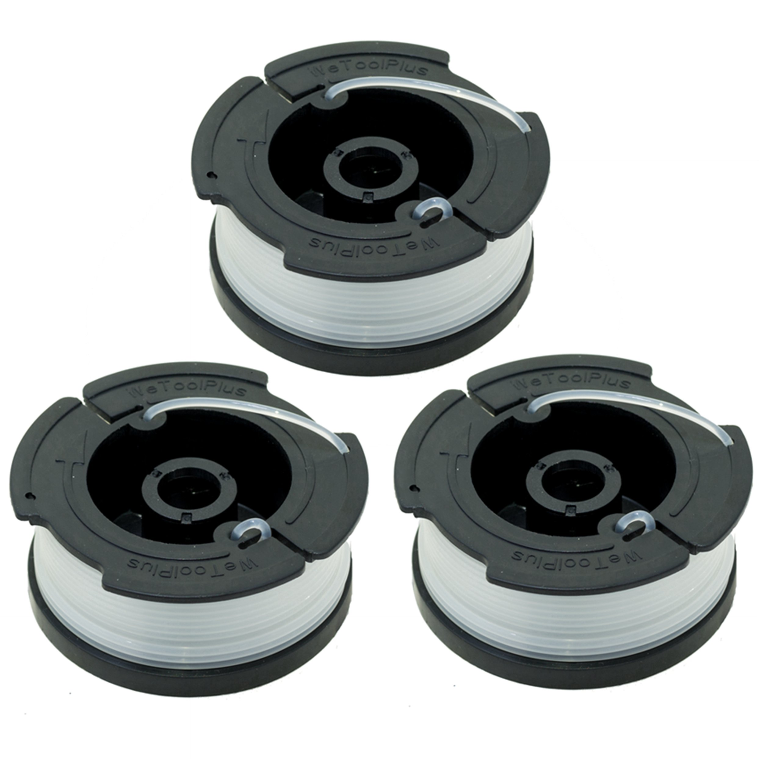LBK 0.065'' Spool for BLACK+DECKER String Trimmers (Replacement Autofeed Spool), compatible with BLACK+DECKER AF-100,3-Pack