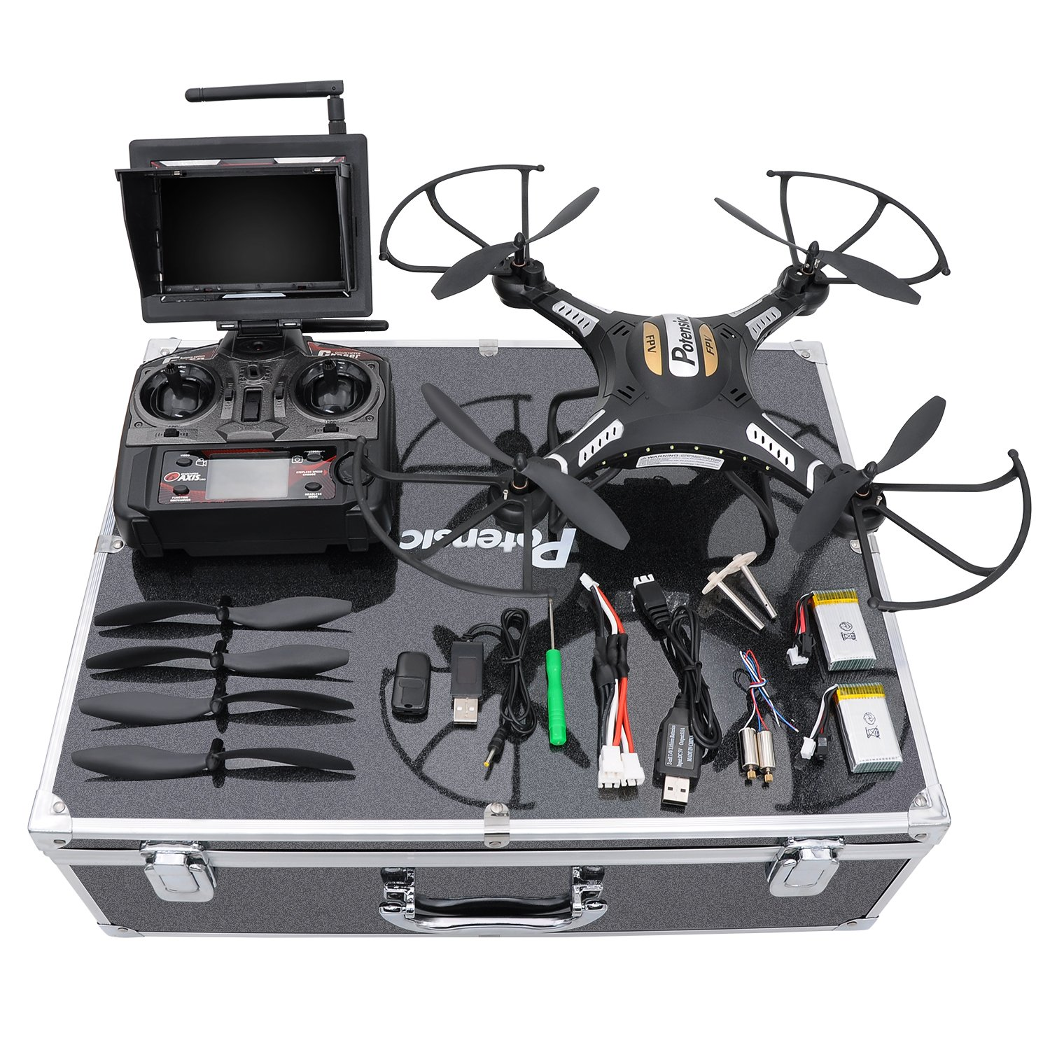 e38e5679673 This Potensic Drone is a great drone for beginners because it comes with  everything that you would need to learn about drones. With our link to  amazon