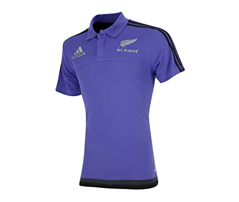 2015-2016 New Zealand Adidas Presentation Polo Shirt (Purple ...