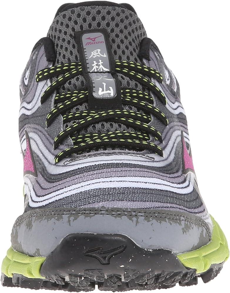 Mizuno Wave Kazan Mujer US 8 Gris Zapato para Correr: Amazon.es: Ropa y accesorios
