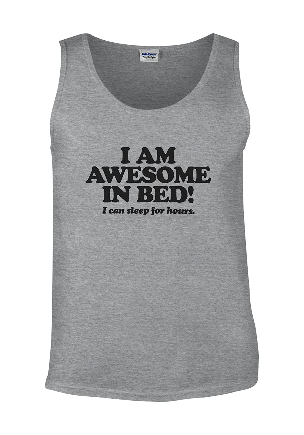 I Am Awesome In The Bed I Can Sleep White Men Vest Tank Top