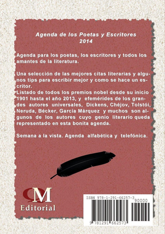 Agenda 2014 De los Poetas y Escritores: Amazon.es: QM ...