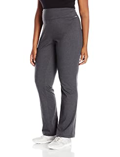 9a52b4be18e3a Jockey Women's Activewear Cotton Stretch Slim Bootleg Pant at Amazon ...