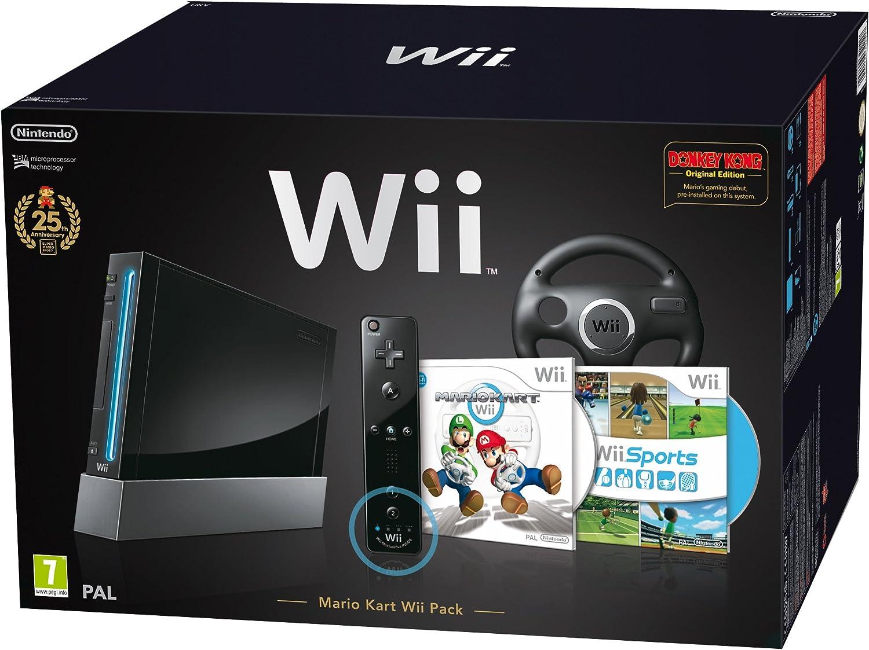 Nintendo Wii + Mario Kart + Wii Sport: Amazon.es: Videojuegos