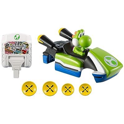Hot Wheels AI Yoshi DLX Shell & Expansion Card Kit: Toys & Games