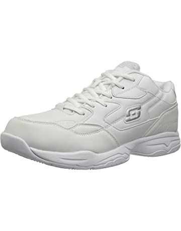 053e044ae9e5a7 Skechers for Work Men s Felton Slip Resistant Relaxed-Fit Work Shoe