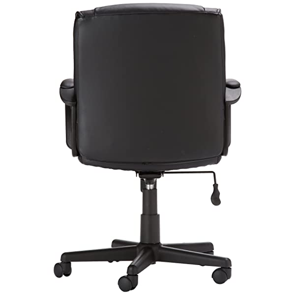 AmazonBasics Mid-Back Office Chair, Black