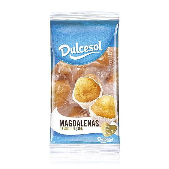 DULCESOL - Ducesol Magdalenas Redondas Bolsa 300 Gr