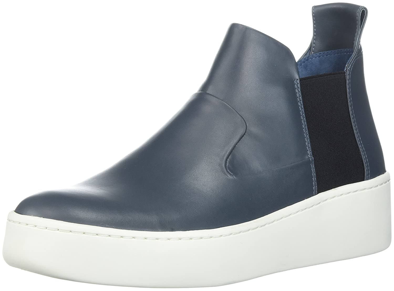 Via Spiga Women's Eren Mid-Height Sneaker B074CYXZ7W 5 B(M) US|Air Force Blue Leather