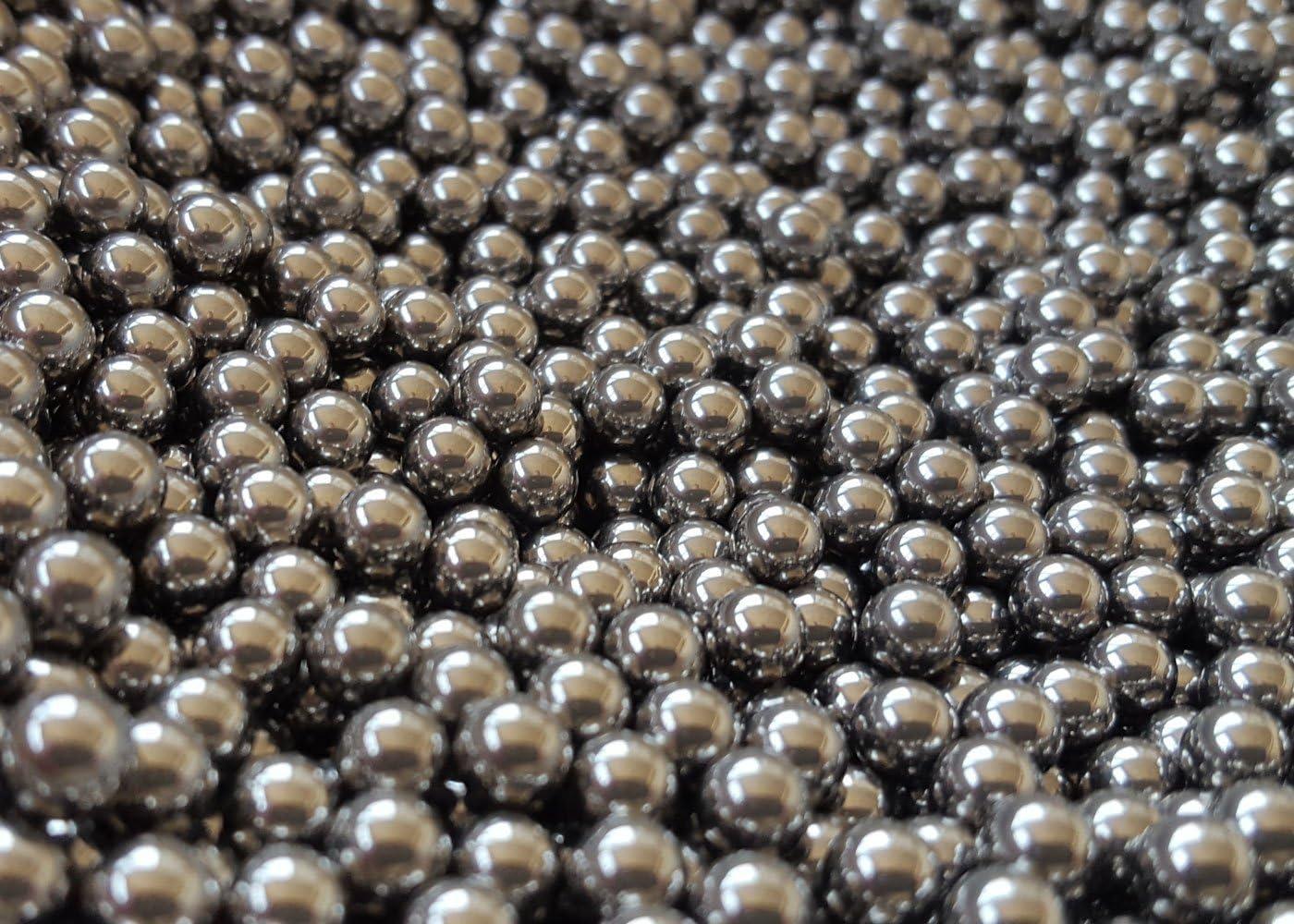 """8mm 5//16/"""" Catapulta Fionda Munizioni cuscinetti a sfera d/'acciaio-confezione da 5000"""