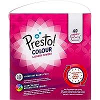 Marca Amazon - Presto! Detergente color en polvo