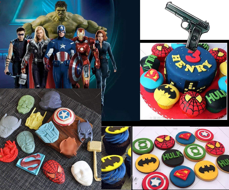 Anyana Batman Superman pistola de star wars Cartoon molde para ...
