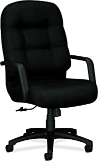 product image for HON Executive Chair - Pillow-Soft Series High-Back Office Chair, Black (H2091)