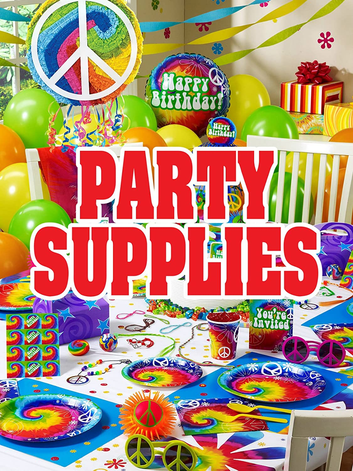 Party Supplies 18x24 Business Store Retail Signs