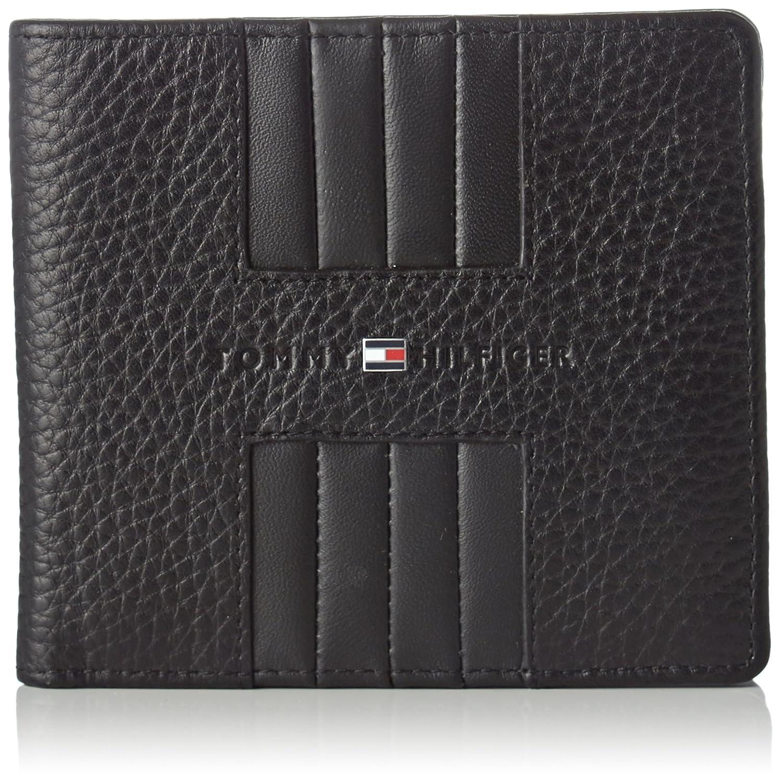 Tommy Hilfiger Heritage Cc Back Coin Zip Black 1x10x11 cm Men/'s Wallet B x H T