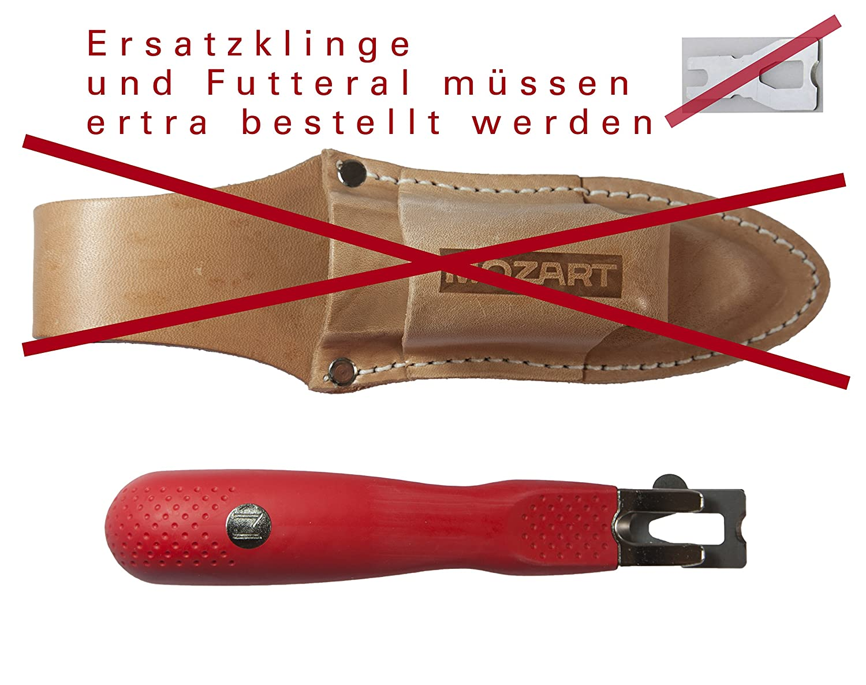 Original Mozart Spezial-Absto/ßmesser f/ür Handwerker Bootsbauer Heimwerker Raumausstatter Schiffsbauer Bodenleger Yachtbesitzer