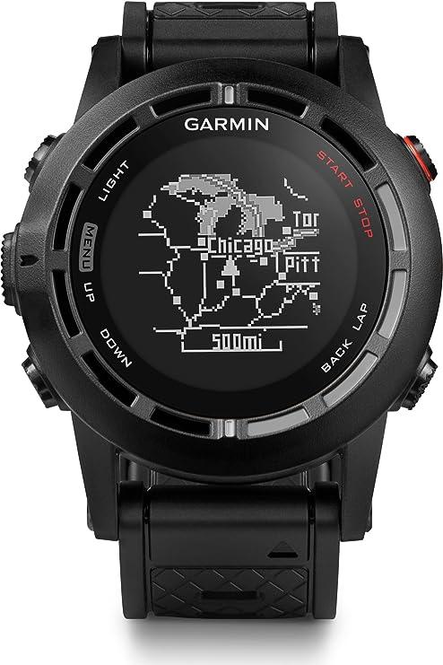 Garmin Fenix 2 Pack - Reloj con GPS, color negro (con monitor de ...