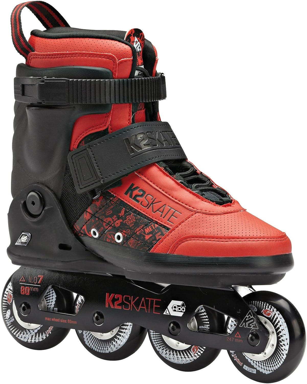 K2/Il Capo Inline Skates Adult Unisex Inlineskate II Capo Black//red US 9 EU 42