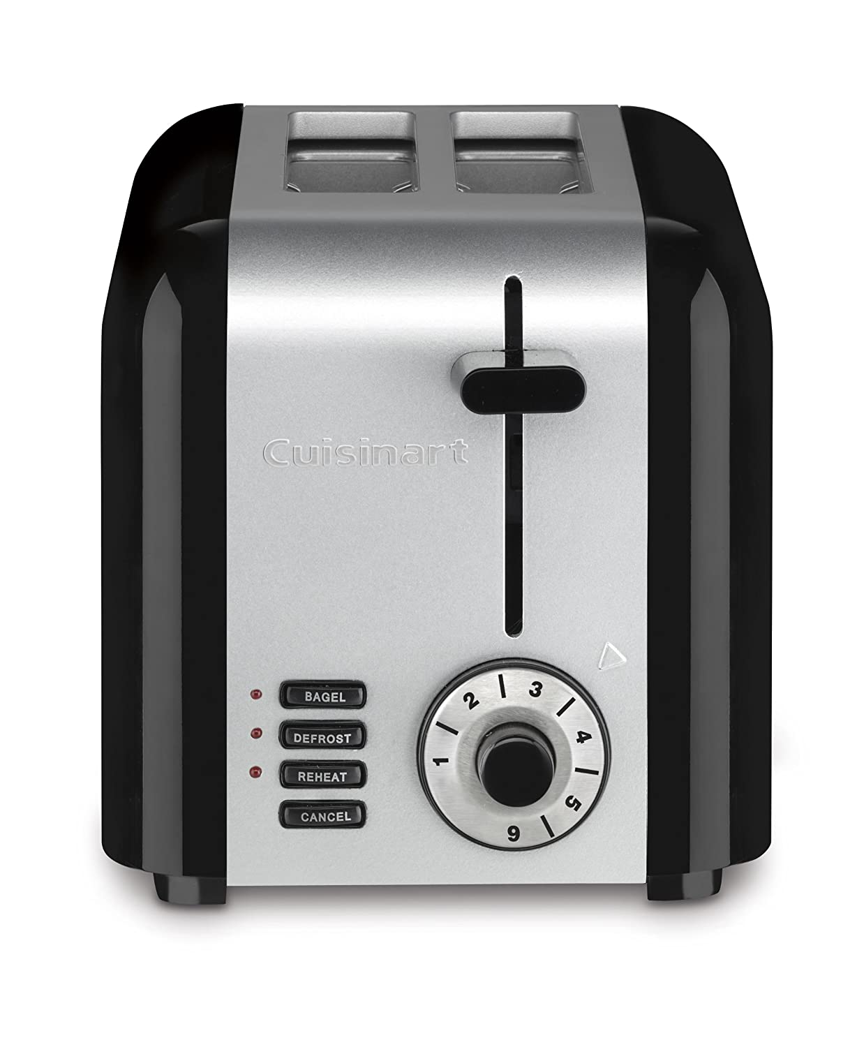 6. Cuisinart CPT-320 Compact Stainless 2-Slice Toaster, Brushed Stainless
