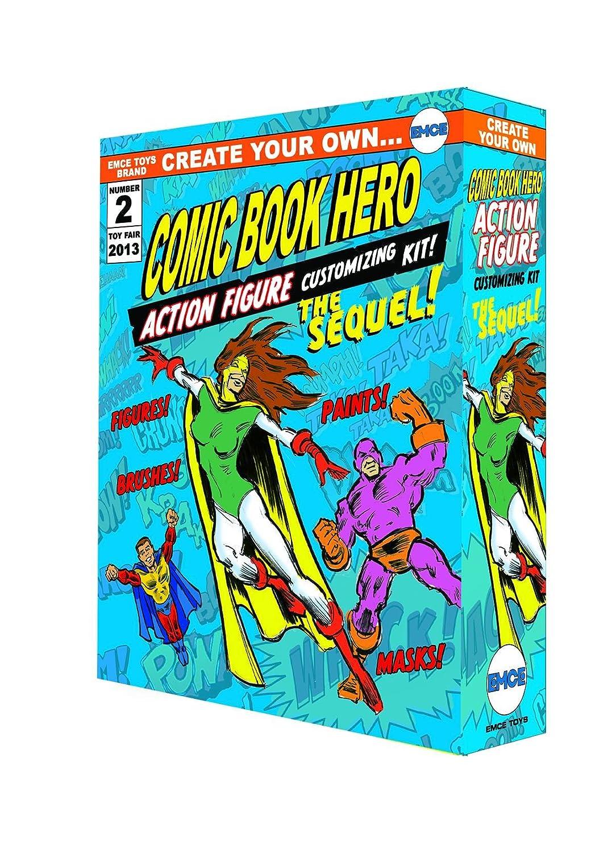SPHEREWERX crear su propio libro Comic Hero personalización Kit la secuela acción figura