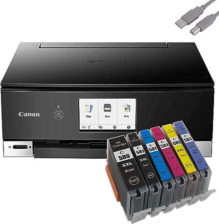 Bundle Canon Pixma Ts8250 Tintenstrahldrucker Computer Zubehör
