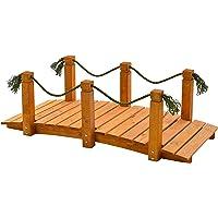 Le summum pour votre jardin - Le pont avec main courant