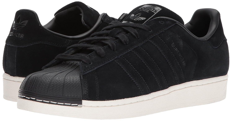 14f711a6237b9 adidas Originals Men's Superstar Foundation Casual Sneaker, BLACK  SUEDE/BLACK/BLACK, 7 D(M) US