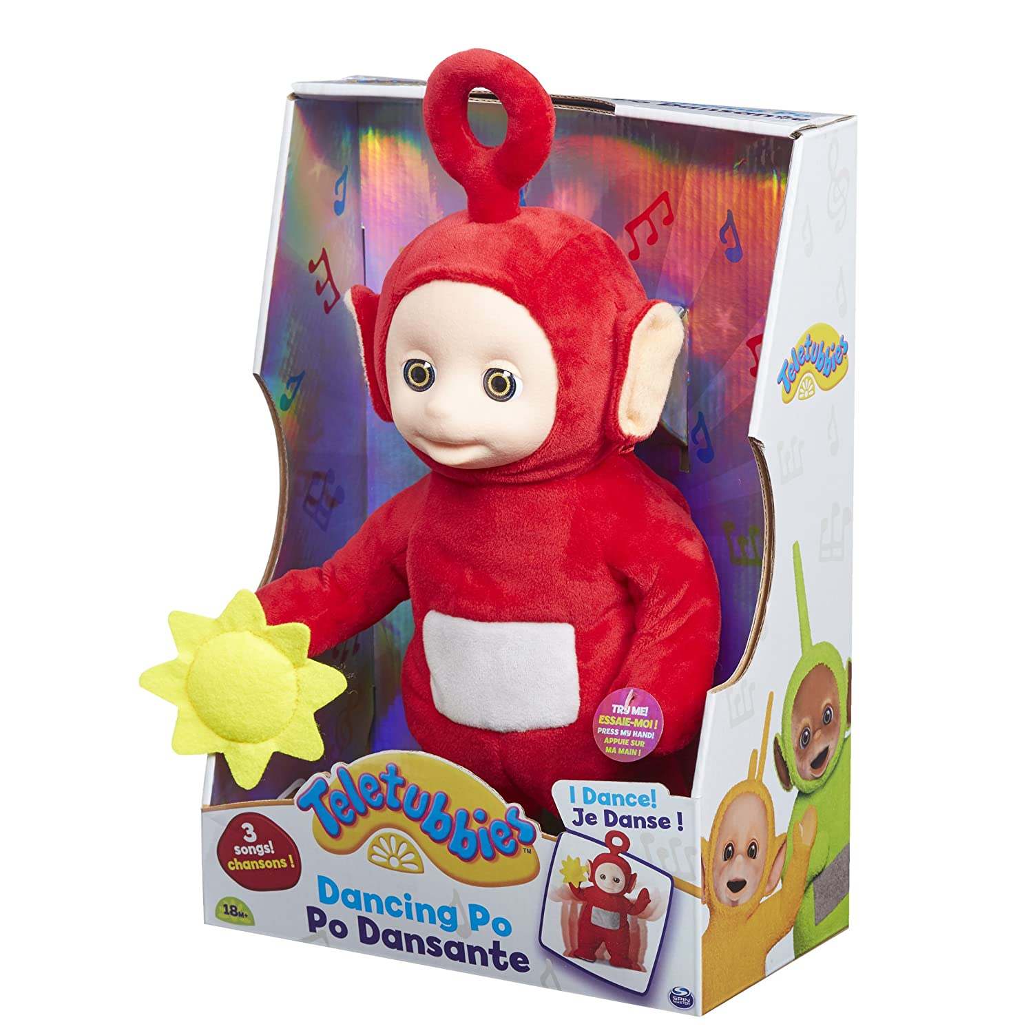Teletubbies Dancing and Singing Soft Toy Character Options