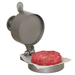 "Weston Burger Express Hamburger Press with Patty Ejector (07-0310-W), Makes 4 1/2"" Patties, 1/4lb to 3/4lb"