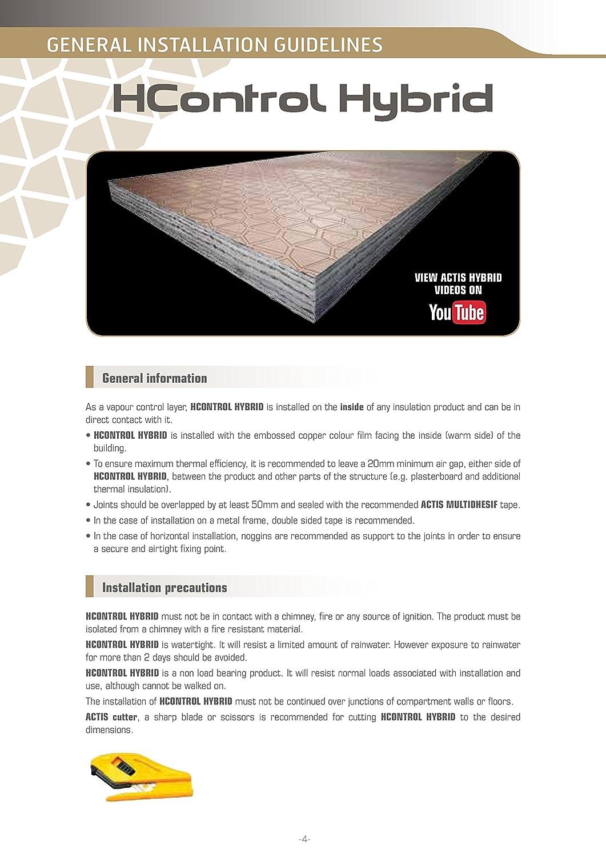 ... loft techo pared suelo techo - mejor que la barrera de vapor de aislamiento con sensor de movimiento: Amazon.es: Bricolaje y herramientas