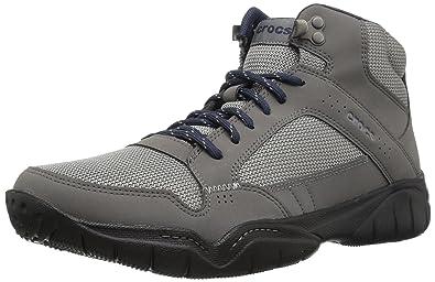 f90e475f672 Crocs Men's Swiftwater Hiker Mid M Boot