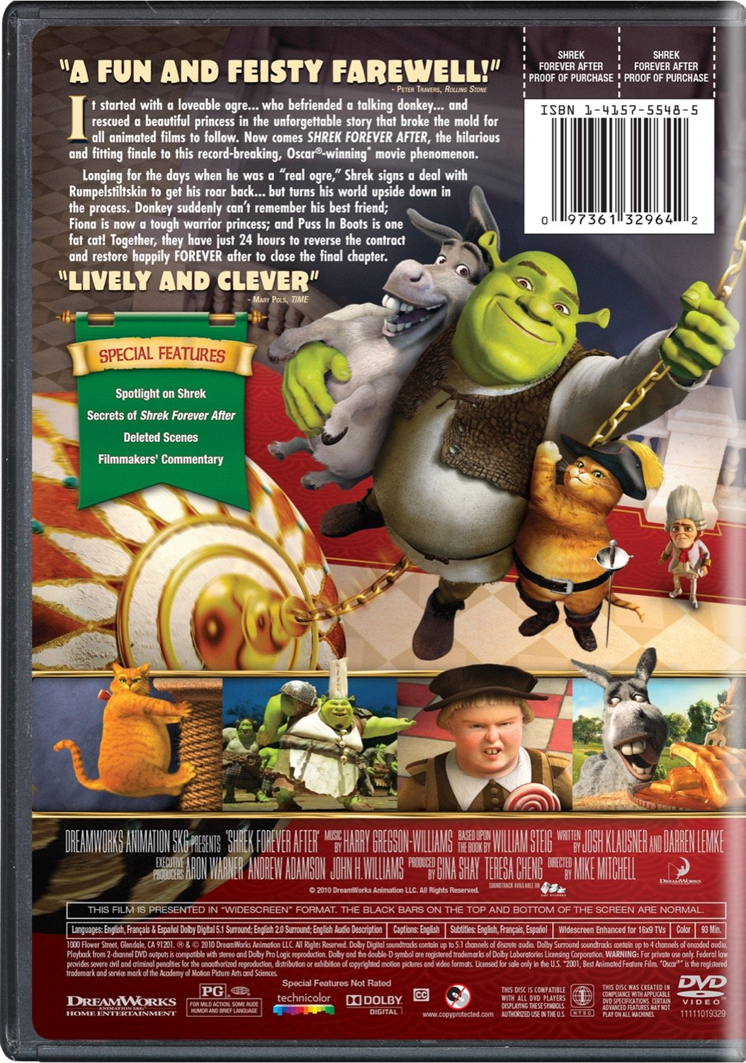 Shrek Better Out Than In Youth T Shirt 2T-YXL Great Kids Movie