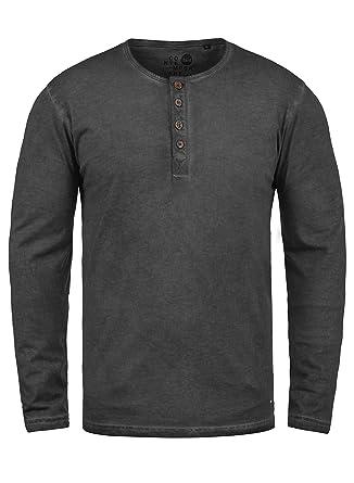 e91a23c65b07 Solid Timur T-Shirt Tunisien à Manches Longues pour Homme 100% Coton ...