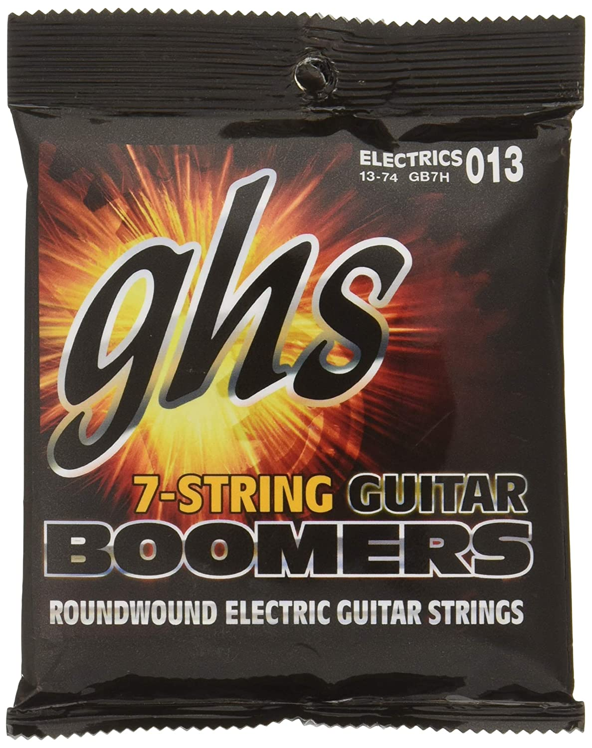Amazon Com Ghs Boomer 7 String Heavy Electric Guitar Set 13 74