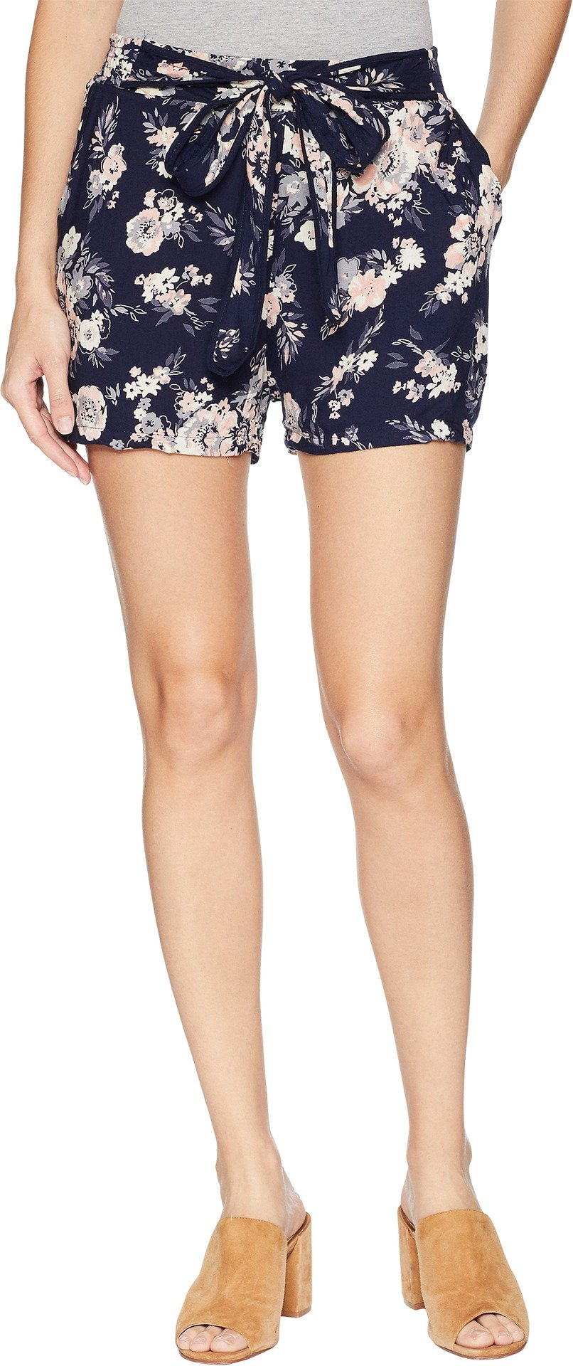 Angie Women's Print Short Navy Medium 2