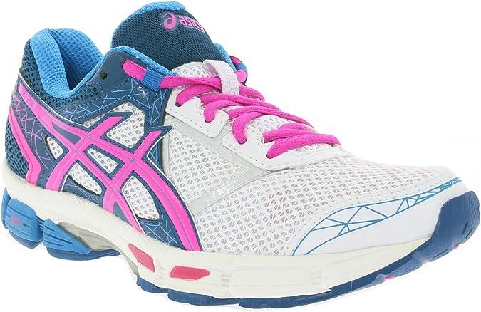 ASICS Gel Zone 3 - Zapatillas de Running para Mujer, Color Blanco y Rosa, 3.5 UK: Amazon.es: Deportes y aire libre