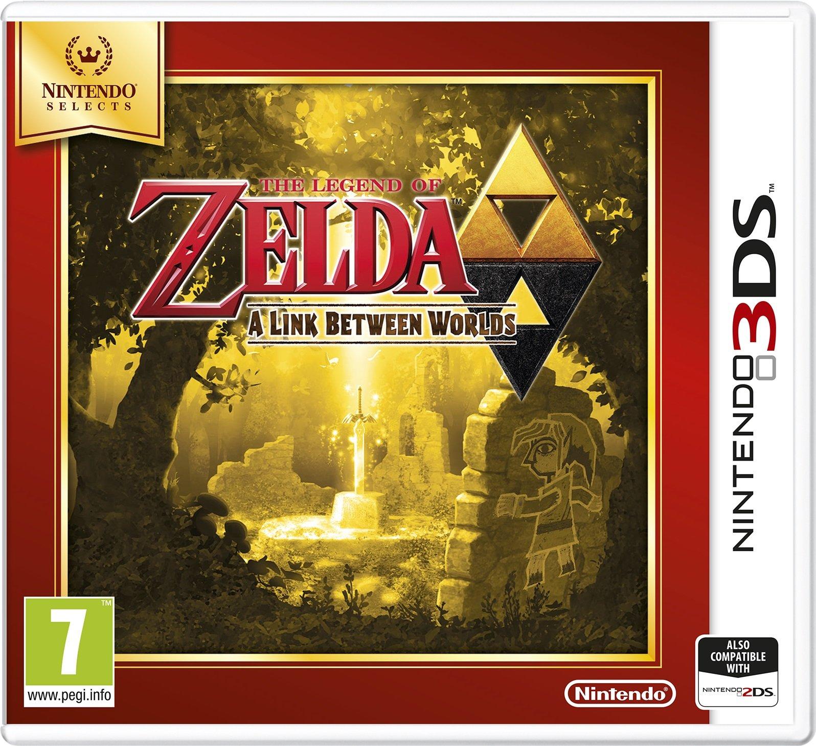 Nintendo Selects - Legend of Zelda: A Link Between Worlds (Nintendo 3DS)