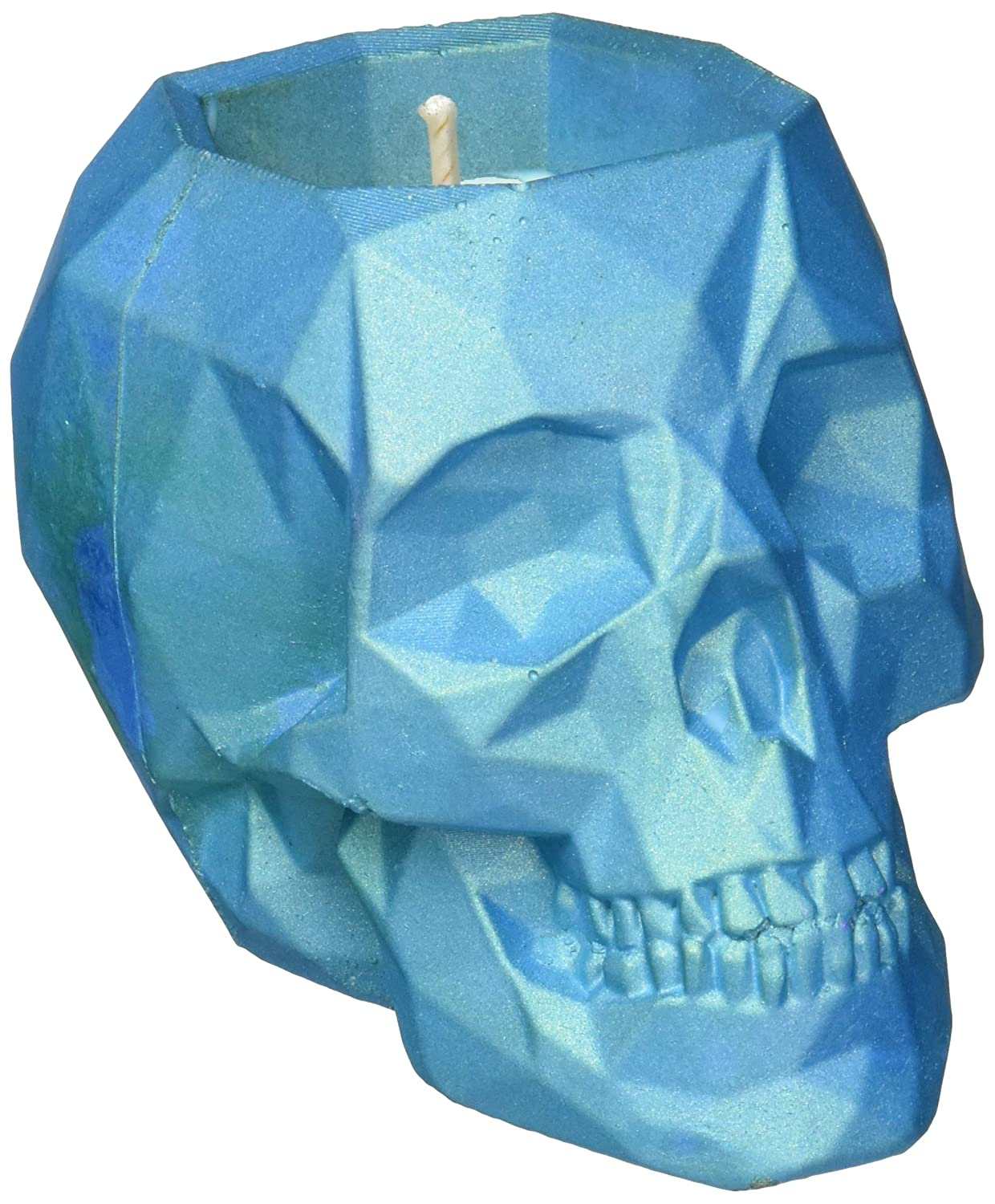 Orient Wood Scent Skull Turquoise Candellana Candles Candlefort Concrete Candle