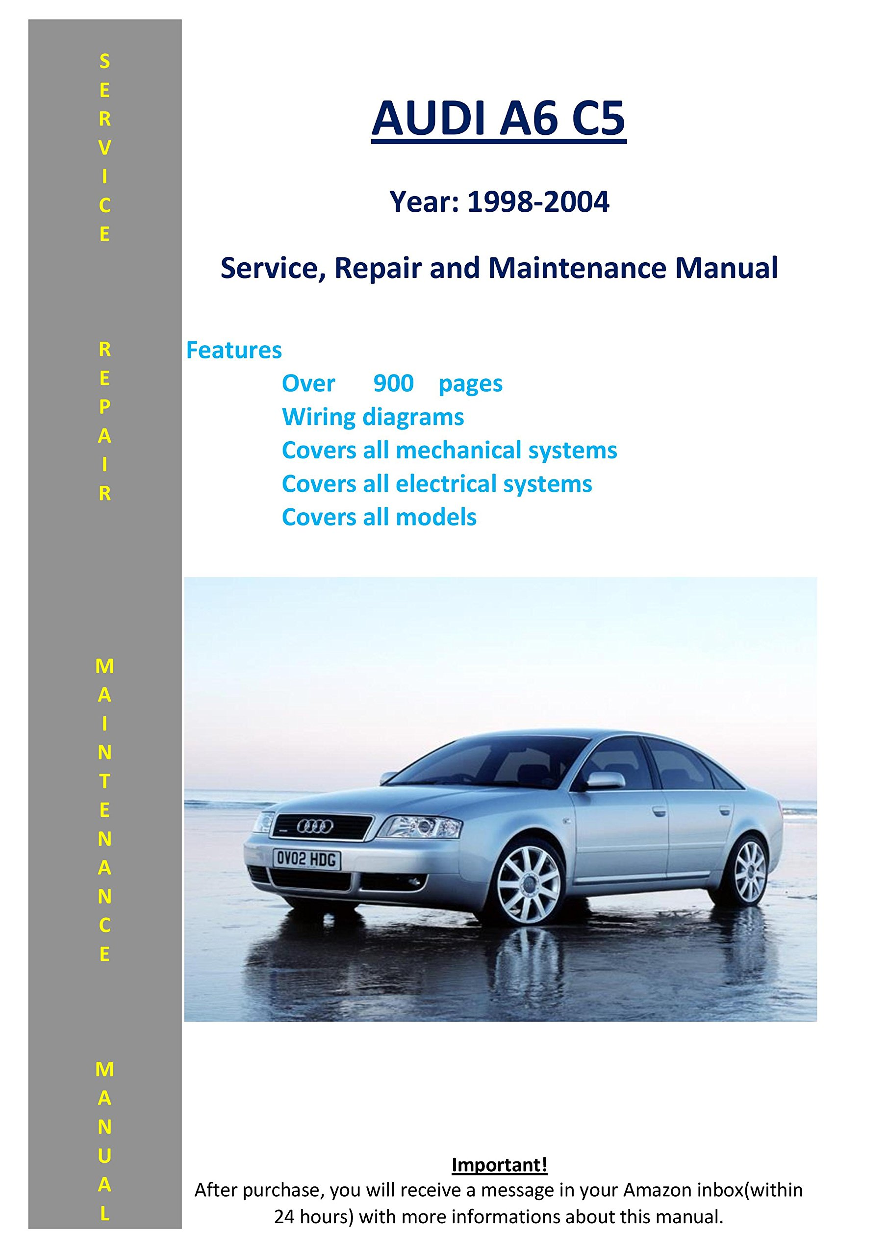 Audi A6 C5 From 1998 - 2004 Service Repair Maintenance Manual: SoftAuto  Manuals: 5002992900875: Amazon.com: Books