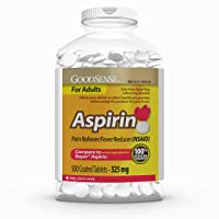 Deals on 500 Count GoodSense Aspirin Pain Reliever & Fever Reducer