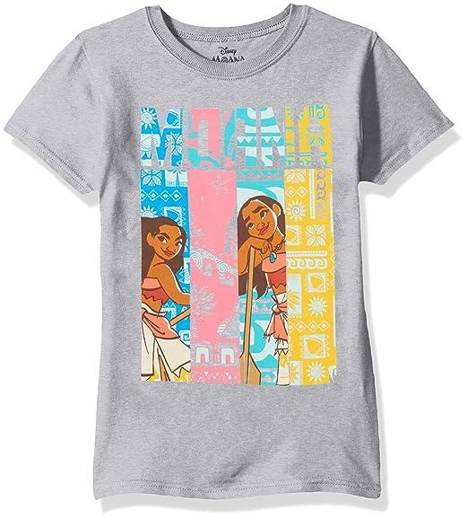 61e807b43d9 Disney Girls  Big Moana Cap Sleeve T-Shirt