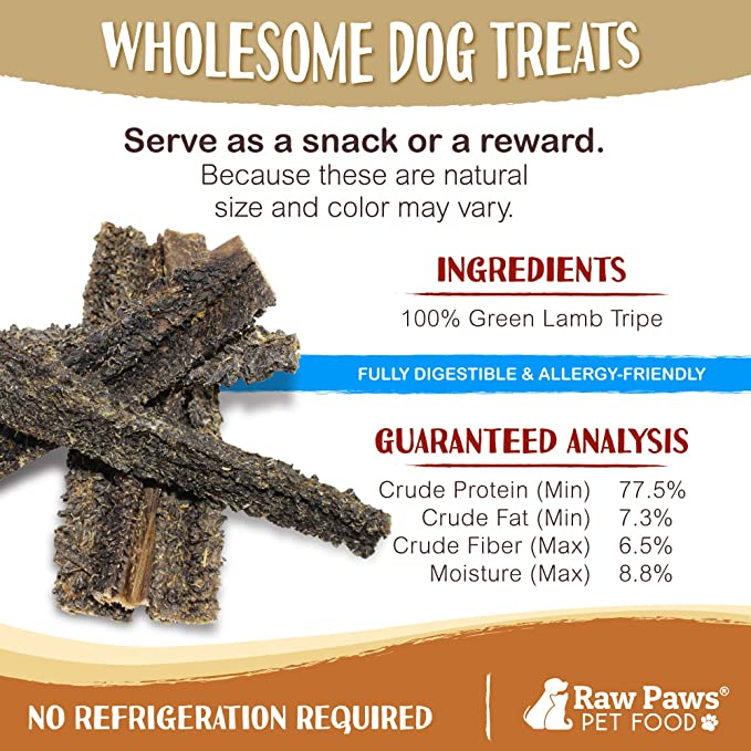 Amazon.com: Raw Paws - Barritas de cordero para perros ...